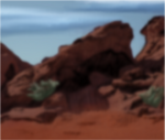 desert stones by Tehutiy