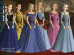 Disney Princess Tudors