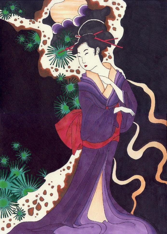 Japanese Geisha Tattoo Designs Gallery 19