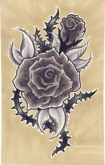 Faded Rose By Scarlet Hel On Deviantart