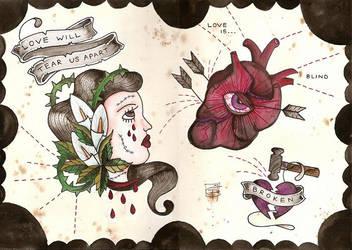 love will tear us apart by Scarlet-Hel