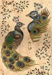 Peacock Flash Sheet
