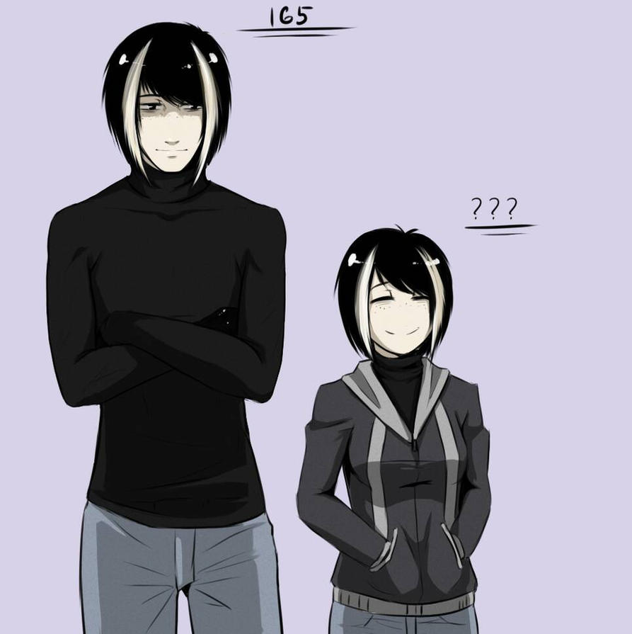Height Differences*Me* by GAMERTHEF0X