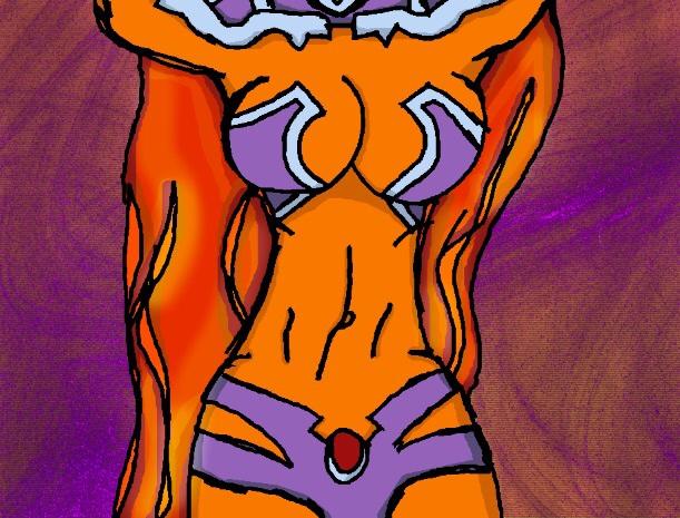 Princess Koriand'r by Starfirekicksthebutt