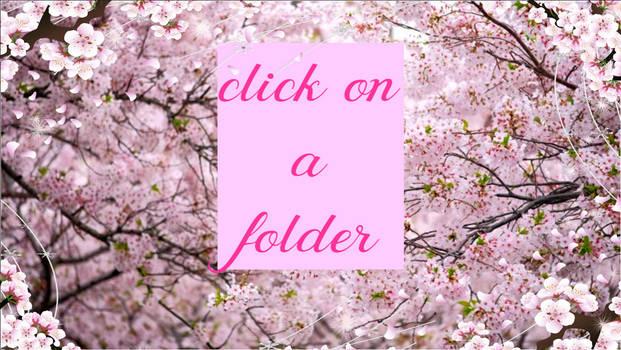 Click On A Folder
