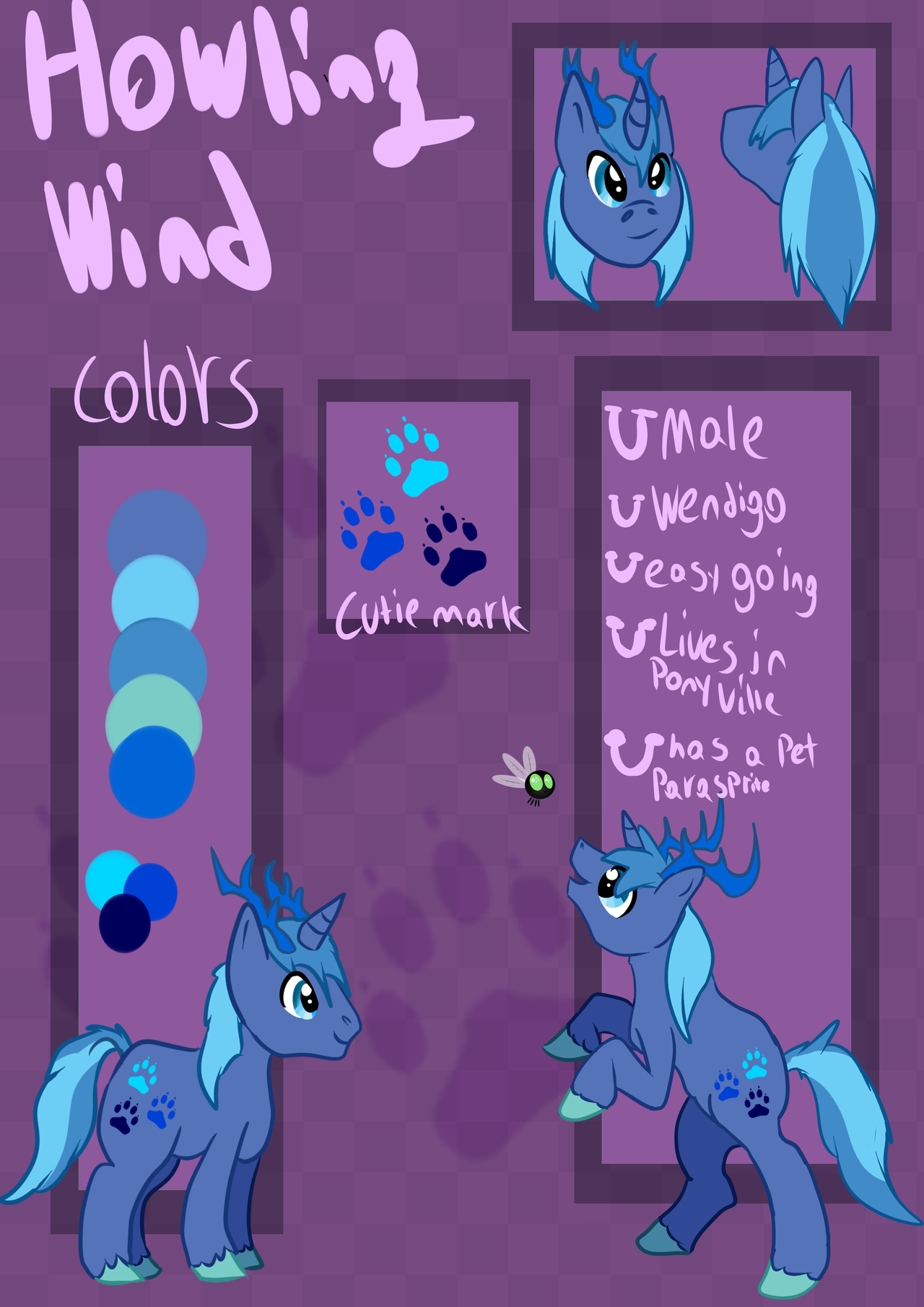 COM: MLP Howling Wind Ref Sheet by KingGigabyte