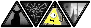 F2U: Bill Cipher Aesthetic by KingGigabyte