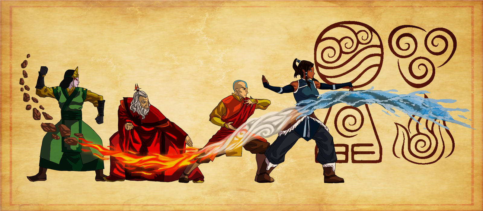 Avatar The Last Airbender Characters As Adults Re-watching The Last Airbender