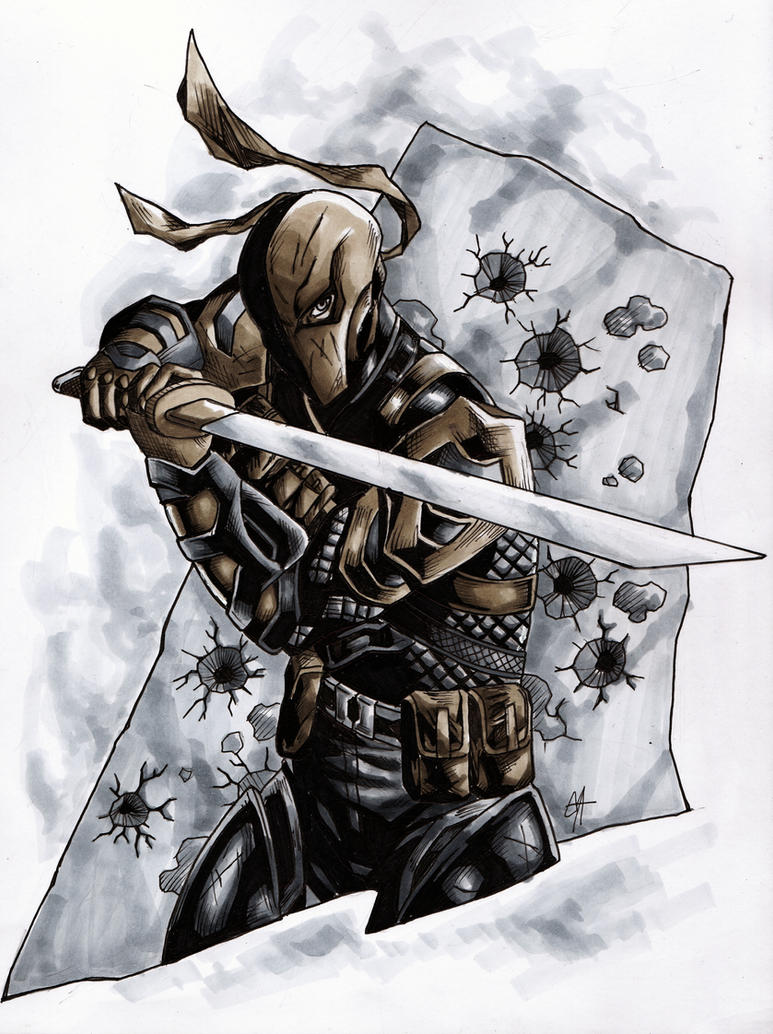 Deathstroke the Terminator copics by wildcard24