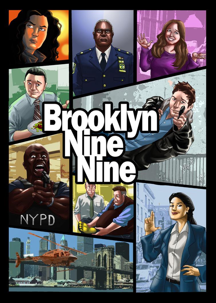 Brooklyn Nine Nine by wildcard24