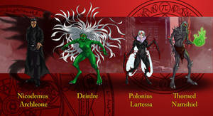 Dresden Files characters 8 by wildcard24