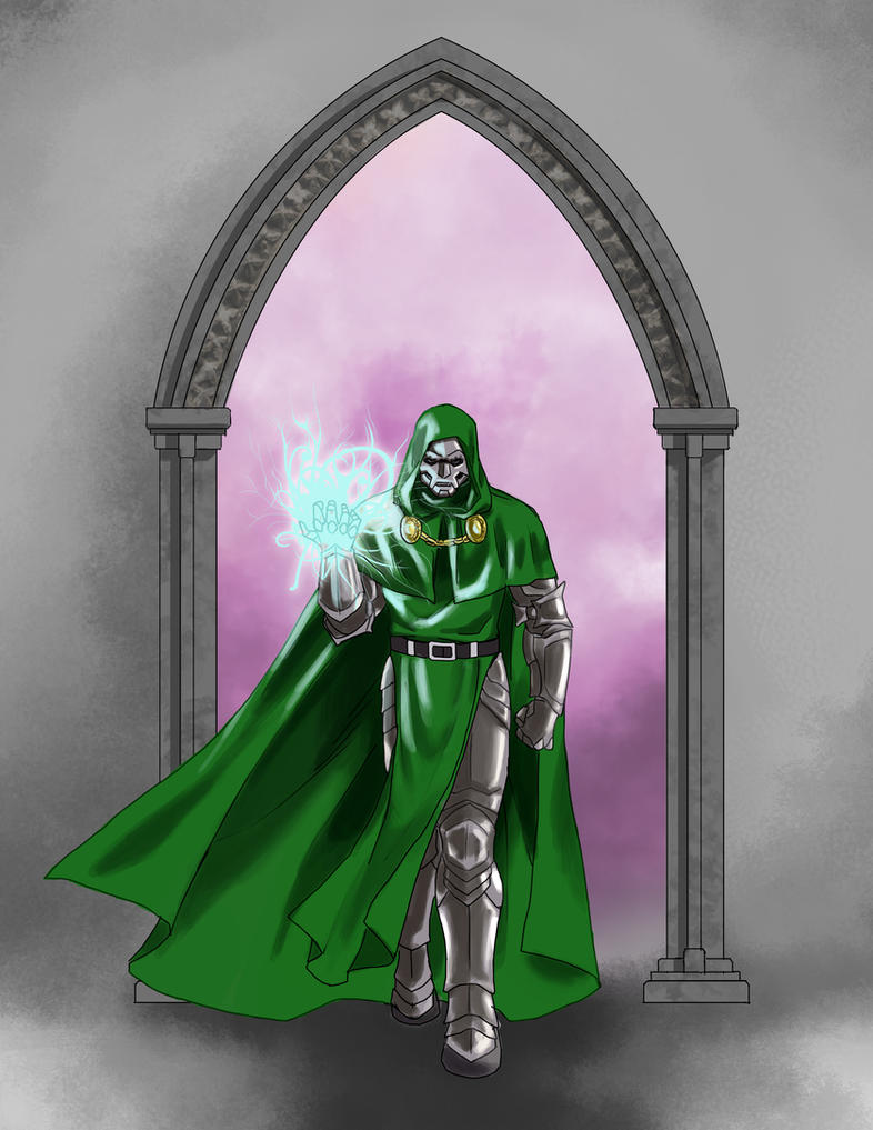 Bow before DOOM!!! by wildcard24