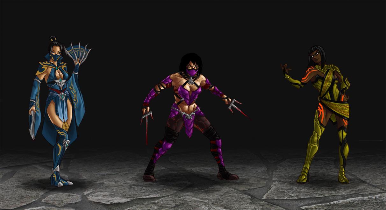 Mortal Kombat redesigns 2 by wildcard24