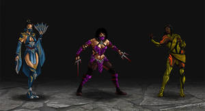 Mortal Kombat redesigns 2