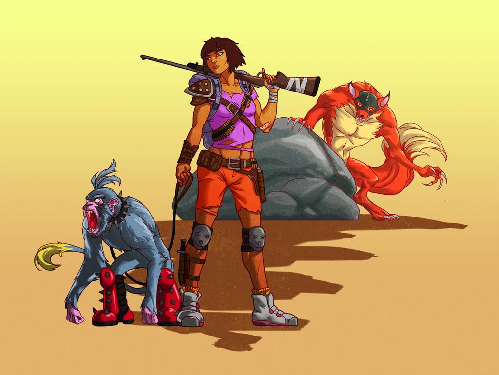 Dora The Wanderer By Wildcard24 On DeviantArt