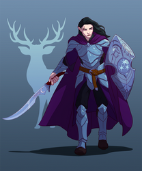 Sto, Half-Elf Paladin/Warlock