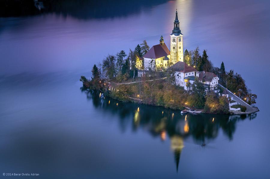 Lake Bled Island by BerarAdrian