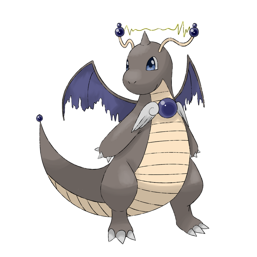 Alolan dragonite / dragonite alola form by babybluemew on DeviantArt