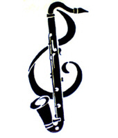 Bass Clarinet Tattoo by CrownePrince