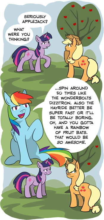 What were you thinking Applejack? by CrownePrince