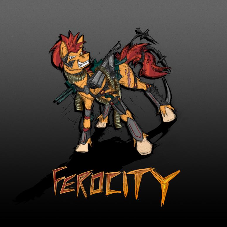 ferocity - définition - What is