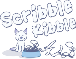 Scribble Kibble Logo by CrownePrince