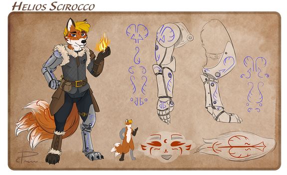Helios Scirocco - Character Reference