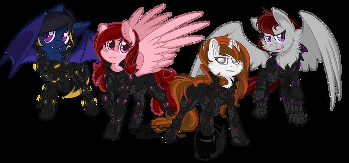 Ponies in Space