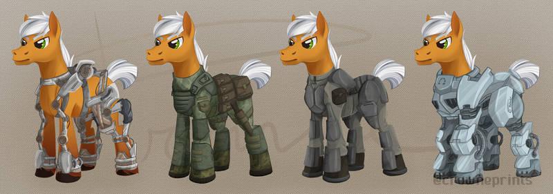 EDF Horse Armor