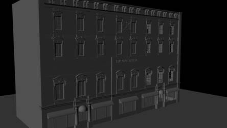 3D Model of Masonic Temple in Washington DC