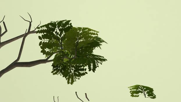 Tree in progress