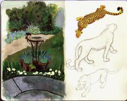 Sketchbook Page 37 by Crayon-Tiger