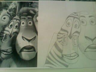 Desenho - Madagascar by ThePoph