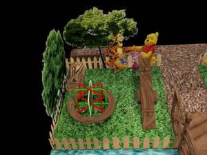 Stand Infantil - Tema ursinho Pooh