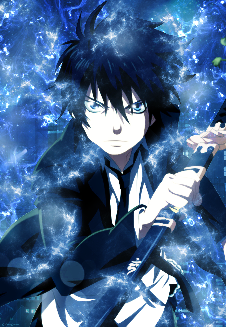 blue exorcist rin okumura - photo #25