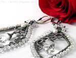 *Neda* bridal earrings