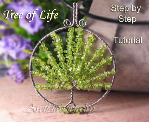 My first wire jewelry tutorial by arctida on deviantart my first wire jewelry tutorial by arctida mozeypictures Image collections