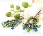 *Ituralde* gemstone earrings