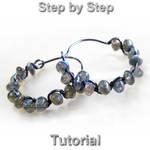 Hoops earrings tutorial