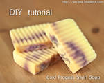 DIY Cold Process Swirl Soap Tutorial by Arctida