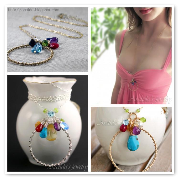 *Deira* Personalized birthstone necklace by Arctida
