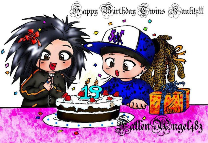 Happy Birthday Twin Quotes Happy Birthday Twins Kaulitz