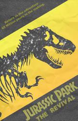 Jurassic Park IV teaser poster by JFB32