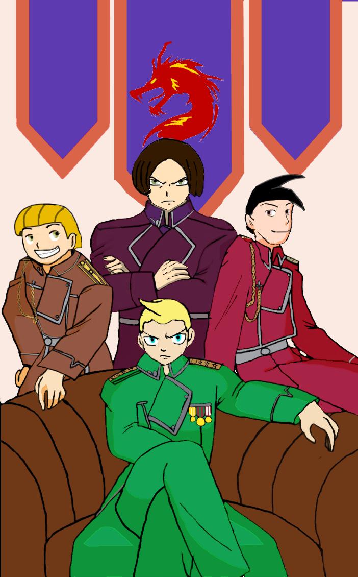 Dragonings commanders by vasilia95