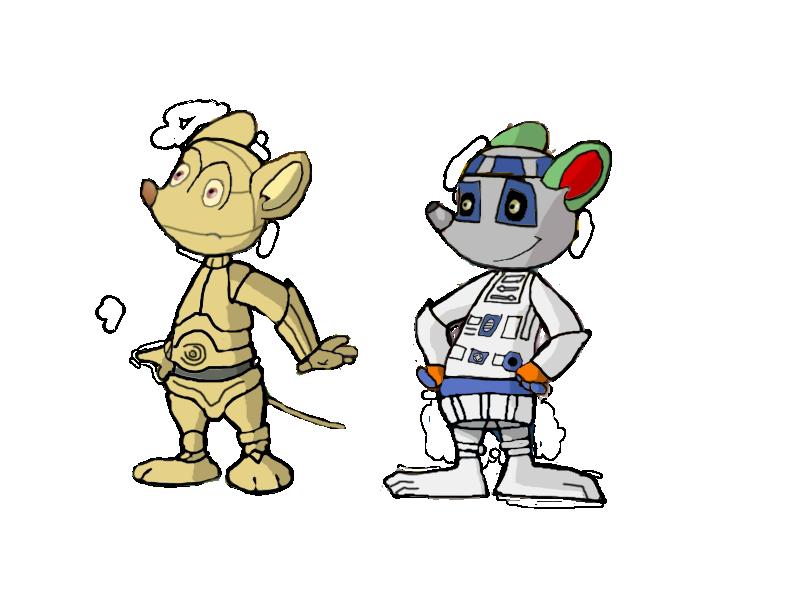 Stan and Yolli droids by vasilia95