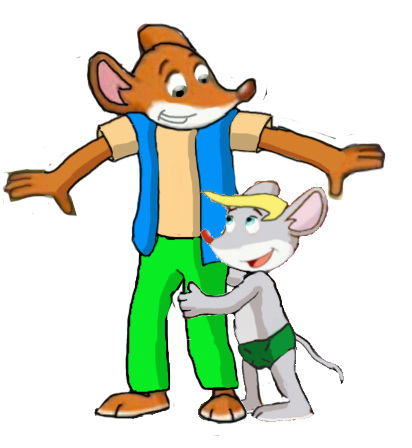 Geronimo and oliver by vasilia95