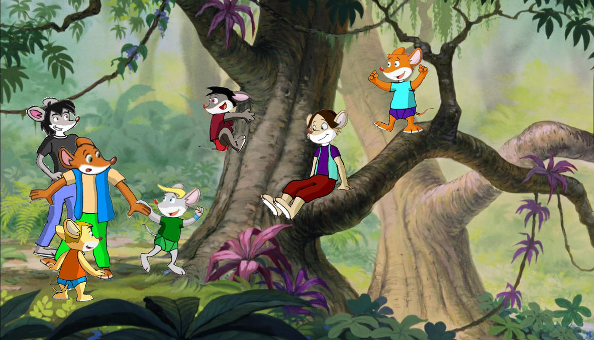 Boys in jungles by vasilia95