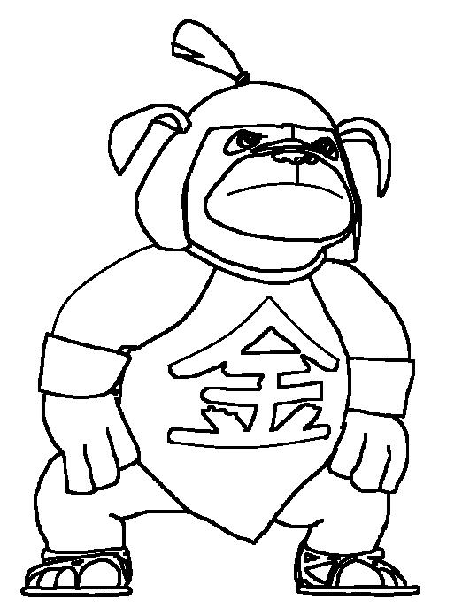 Kintaro - Blackwhite by vasilia95