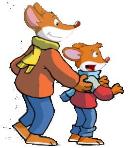 Geronimo and Benjamin by vasilia95