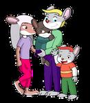 Oliver, Sara, Oliver junior and Oli by vasilia95